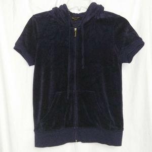 Juicy Couture Black Label Short Sleeve Jacket